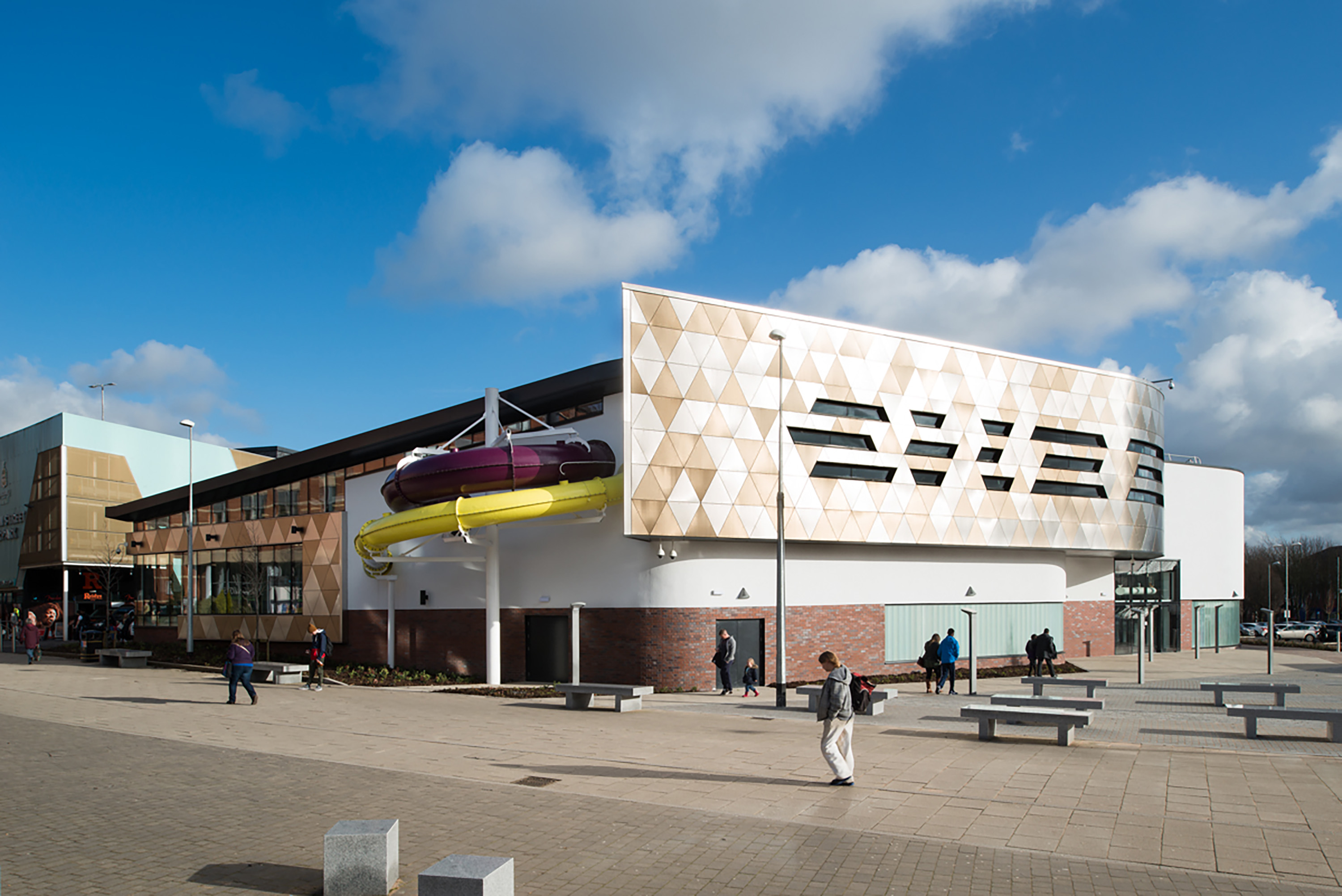 Blackburn College Leisure Centre Eric Wright Group