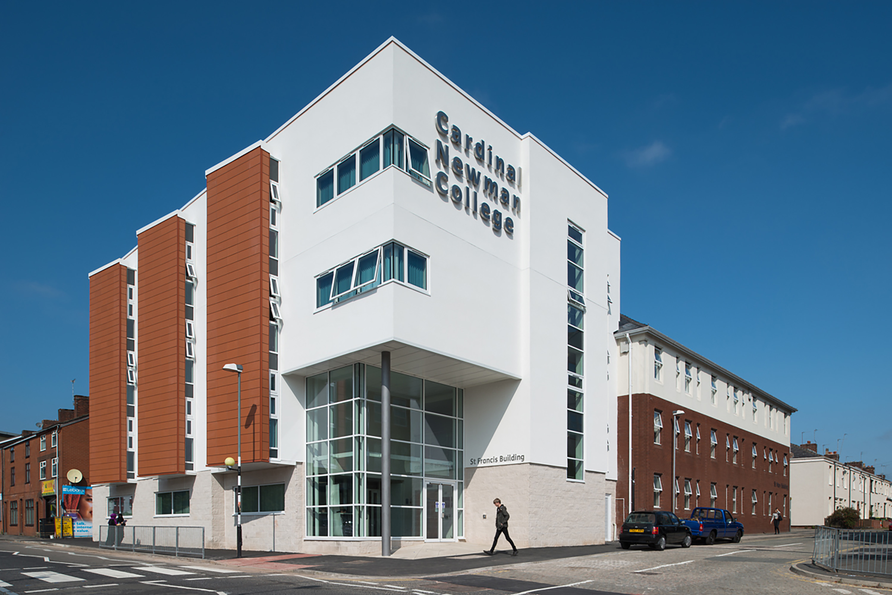Cardinal Newman College Phase 3 183 Preston Eric Wright Group